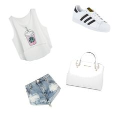 Fashion by nilay-2 on Polyvore featuring polyvore, fashion, style, One Teaspoon, adidas, Michael Kors and clothing