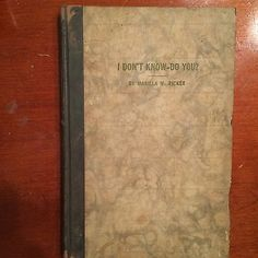 Roycroft-1916-Marilla-M-Ricker-Suffragette-SCARCE-book-I-Dont-Know-do-You…