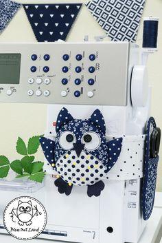 OWL PINCUSHION SEWING PATTERN by BlueOwlLand