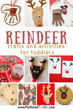 These reindeer crafts and activities for toddlers are so cute! They are such a fun Christmas activity and great for holiday gifts too. Reindeer Crafts and Activities for Toddlers These reindeer crafts are always popular Toddler Christmas, Christmas Mom, Christmas Crafts For Kids, Holiday Crafts, Fun Crafts, Christmas Ideas, Christmas Countdown, Christmas Goodies, Toddler Preschool