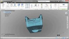 Explore the basic of Autodesk Inventor Fusion with AutoCAD.   #mfg #CAD #design #products