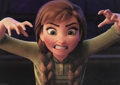 She's a monster😂 Frozen Disney, Top Disney Movies, Best Disney Animated Movies, Frozen 2, Disney Pixar, Disney Characters, Anna Disney, Princess Disney, Disney Princesses