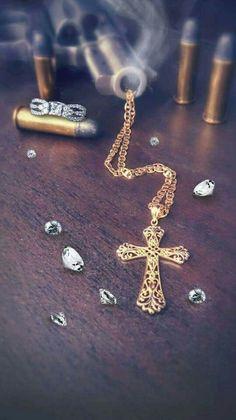 Jewelry diamonds and guns # bling  & bang .