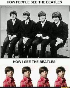 Music Jokes, Music Humor, Beatles Meme, The Beatles, New Funny Memes, Dankest Memes, Hilarious Memes, Chandler Bing Quotes, Big Bang Memes