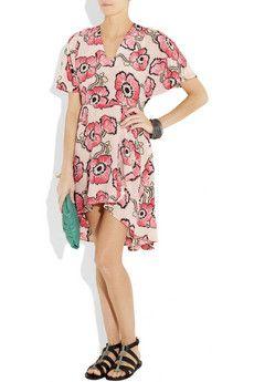 Tucker floral print dress
