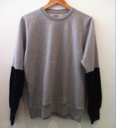 Handsom Dipped Arm Sweater