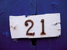 Number 21 by barnesnet, via Flickr Number 21, Magic Number, Countdown To Extinction, 21st, Shapes, Coaching, Letters, Learning, Book