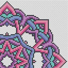 PATTERN Knotty Mandala Cross Stitch Chart by theworldinstitches