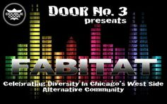FABITAT: Leather and Lace-IML Edition DJ Adam El, DJ Ldy Prblms, Lucy Stoole, Anita Borshen Wednesday, May 14, 2014 Doors: 9:00 pm / Show: 9:00 pm Free http://www.doubledoor.com/event/547939-fabitat-leather-lace-iml-chicago/