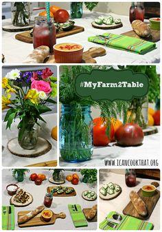 Farm-to-Table Dinner with Door-to-Door Organics #MyFarm2Table #ad