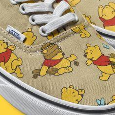 Winnie the Pooh Vans! This Disney + Vans Collab Will Make You Feel like a Kid Again via Brit + Co. Vans Disney, Moda Disney, Disney Shoes, Cute Disney, Disney Outfits, Disney Style, Cute Outfits, Disney Clothes, Disney Fashion
