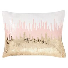Sequin Ikat Pillow Cover | PBteen NEEEEEEED!