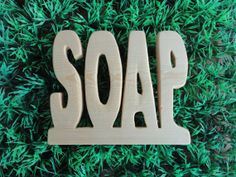 S O A P  porta sapone in legno intagliato a mano di EcoNaturaBio, €4.00