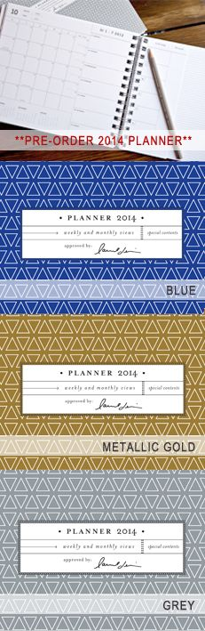"""laurel denise 2014 planner - """"good things come to those who list!"""""""