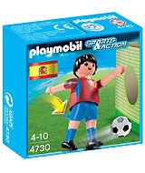 Playmobil Sports & Action: Voetbalspeler Spanje (4730)