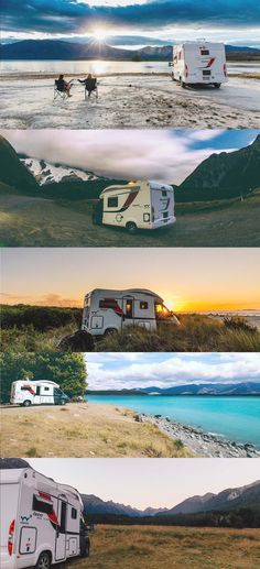 The best FREE campsites across the South Island of New Zealand to stay at on your road trip!