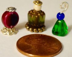 Casa de muñecas miniatura lavanda Perfume por worldinminiatureuk