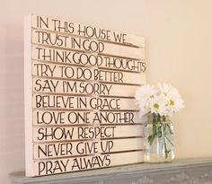 How inspiring to have this in your home!