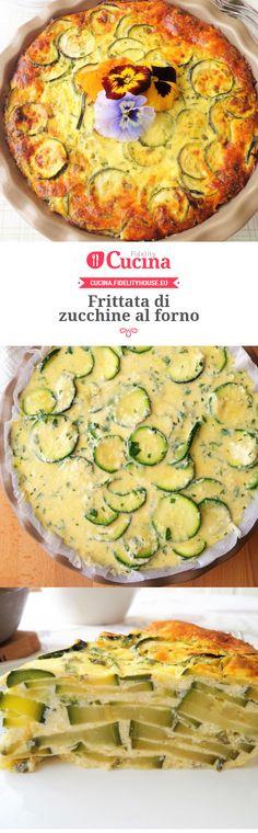#Frittata di #zucchine al forno della nostra utente Magdalena. Unisciti alla nostra Community ed invia le tue ricette!