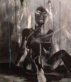 "Saatchi Art Artist Eka Peradze; Painting, ""SOLD.Romance. 50x70cm.#77."" #art"