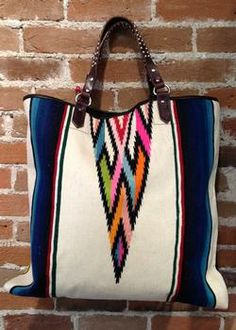 Cry Baby Ranch - large serape tote