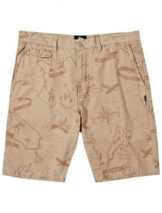 Map Print Short #stussy #map #summer