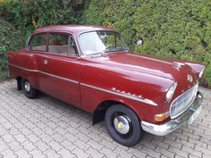 #opel #rekord #classic car in daily   use.