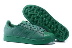 Adidas Women Men Originals Superstar Supercolor PHARRELL WILLIAMS Shoes  Blaze Green Superstar Supercolor 49c142f8bc6