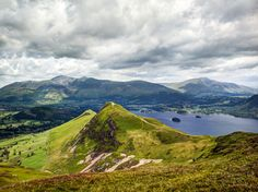 Skiddaw, Blencathra and Catbells from Maiden Moor | Flickr - Photo Sharing!