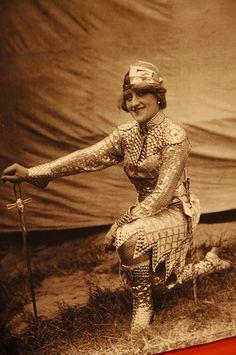 Joan of Arc vintage costume photo