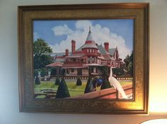Rendezvous at Sonnenberg  Canandaigua NY.  by MaryRileyFineArt