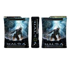 Halo 4 Limited Edition Game Skin For Xbox 360 Console, 2015 Amazon Top Rated Faceplates, Protectors & Skins #VideoGames