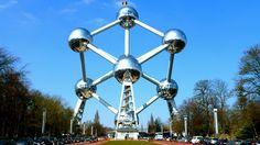 Het Atomium in Brussel