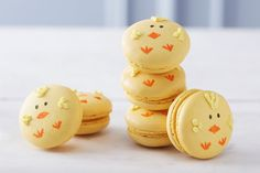 How to Make Chick Macarons #chick #macaron #baking #patisserie #beginner #easter #spring
