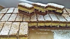 Náš najobľúbenejší zákusok na veľkonočné sviatky: Božské orechové rezy – ťažké uveriť, že sú také jednoduché! Hungarian Desserts, Hungarian Recipes, Poppy Cake, Opera Cake, Torte Cake, Nutella, Yummy Treats, Dessert Recipes, Food And Drink