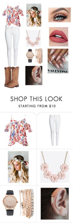 """""""Untitled #52"""" by mzweiaca on Polyvore featuring Tanya Taylor, Emily Rose Flower Crowns, J.Crew, Jessica Carlyle and Roper"""