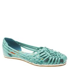 Bena Socrates hurache casuals in turquoise by Rocket Dog