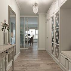 Pin Decor - Just another WordPress site Home Design, Flur Design, Küchen Design, Cottage Living Rooms, Living Room Decor, Hallway Designs, Interior Decorating, Interior Design, Modern Farmhouse Decor