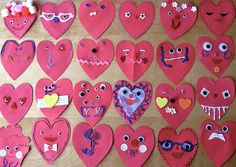 Finally! A valentine's day card that is ALL kids and not parent. And I love googly eyes. Who doesn't?