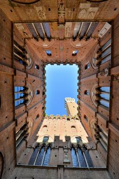 Interior of Palazzo pubblico in Siena, Italy by Angelo Ferraris on 500px