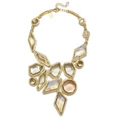 Badgley Mischka Geometric Crystal Necklace