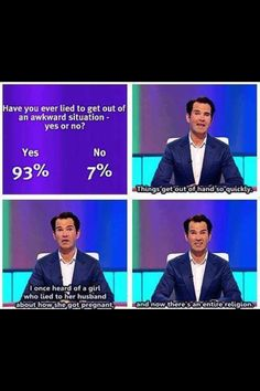Jimmy Carr is my king.