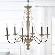 Ophelia & Co. Leib 6 - Light Candle Style Classic / Traditional Chandelier & Reviews | Wayfair