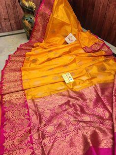 Red Saree Wedding, Wedding Dress Men, Silk Sarees With Price, Wedding Saree Collection, Yellow Saree, Bridal Bangles, Saree Shopping, Buy Sarees Online, Banarasi Sarees