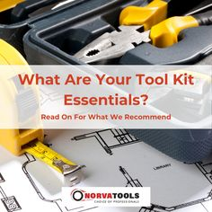 What are the essential tools you need in a basic tool kit? Let's assemble the perfect tool box! For an everyday tool kit that will help you with standard fixes around the home, you will benefit from having the following at your disposal: ✔️Screwdrivers – Philips head and flat + various size heads. ✔️Tape measure ✔️Socket set ✔️Utility knife ✔️Torch ✔️Work gloves ✔️Tongue and groove pliers ✔️Adjustable wrench ✔️Hammer ✔️Narrow nose pliers What else do you keep in your tool set? Let us know in… Basic Tool Kit, Basic Tools, Tool Set, Adjustable Wrench, Professional Tools, Tongue And Groove, Utility Knife, Work Gloves, Socket Set
