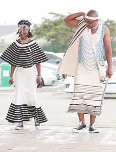 Xhosa wedding traditional dresses What are Xhosa styles for bells occasion? You accessible the wardrobe, and the aboriginal anticipation is 'I accept. Wedding Attire For Women, African Wedding Attire, Wedding Dresses For Kids, African Attire, African Wear, African Dress, African Weddings, African Style, Wedding Outfits