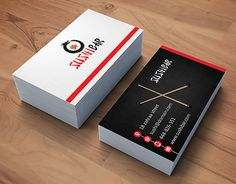 Japanese restaurant business card industry specific business cards check out new work on my behance portfolio sushi bar business card colourmoves