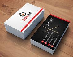 restaurants business cards