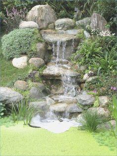 Waterfall garden pond construction manual #construction #garden #manual #waterfall
