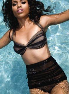 LOVE this high-waisted bikini!!